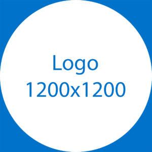 Le logo, au format 1200 x 1200 pixels.